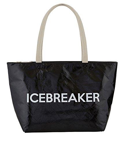 Santa Barbara Design Studio Icebreaker Black 18 x 11 Inch Insulated Large Cooler Tote Bag