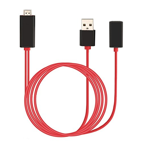 Akface Lightning to HDMI Adapter Cable, 3.5 ft - Itouch Hdmi