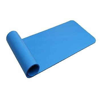 WY1688 Yoga Mat NBR Pilates 183 * 61 * 1Cm (72 Pulgadas X 24 ...