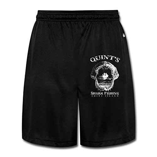 Kamifa Quint's Shark Fishing Gentleman Short Sweatpants Black SizeXX-Large