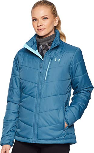 Under Armour Women's FC Insulated Jacket Static Blue/Venetian Blue/Venetian Blue - Under Armour Draft