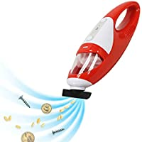 Hand held Vacuum, Evertop CMV(A) dust buster stick vacuum, Mini Portable Car / Pet Hair Vacuum Cleaner, for Dust, Soot, Dirt, or Hair at Home or Onsite (Red)