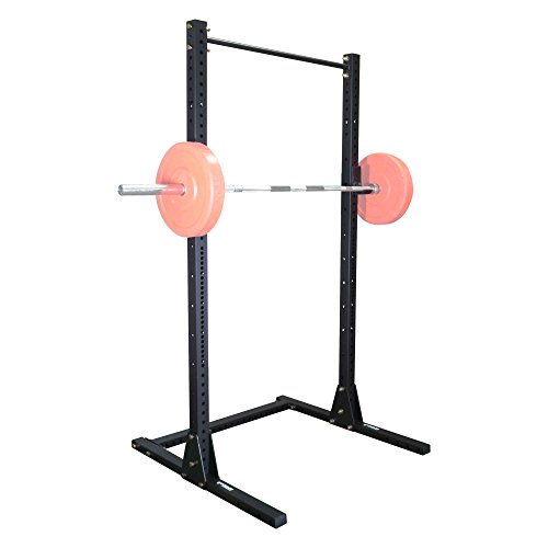 Titan X-3 Adjustable Squat Stand w/ Pull Up Bar 3'' x 3'' Heavy Duty by Titan Fitness (Image #3)