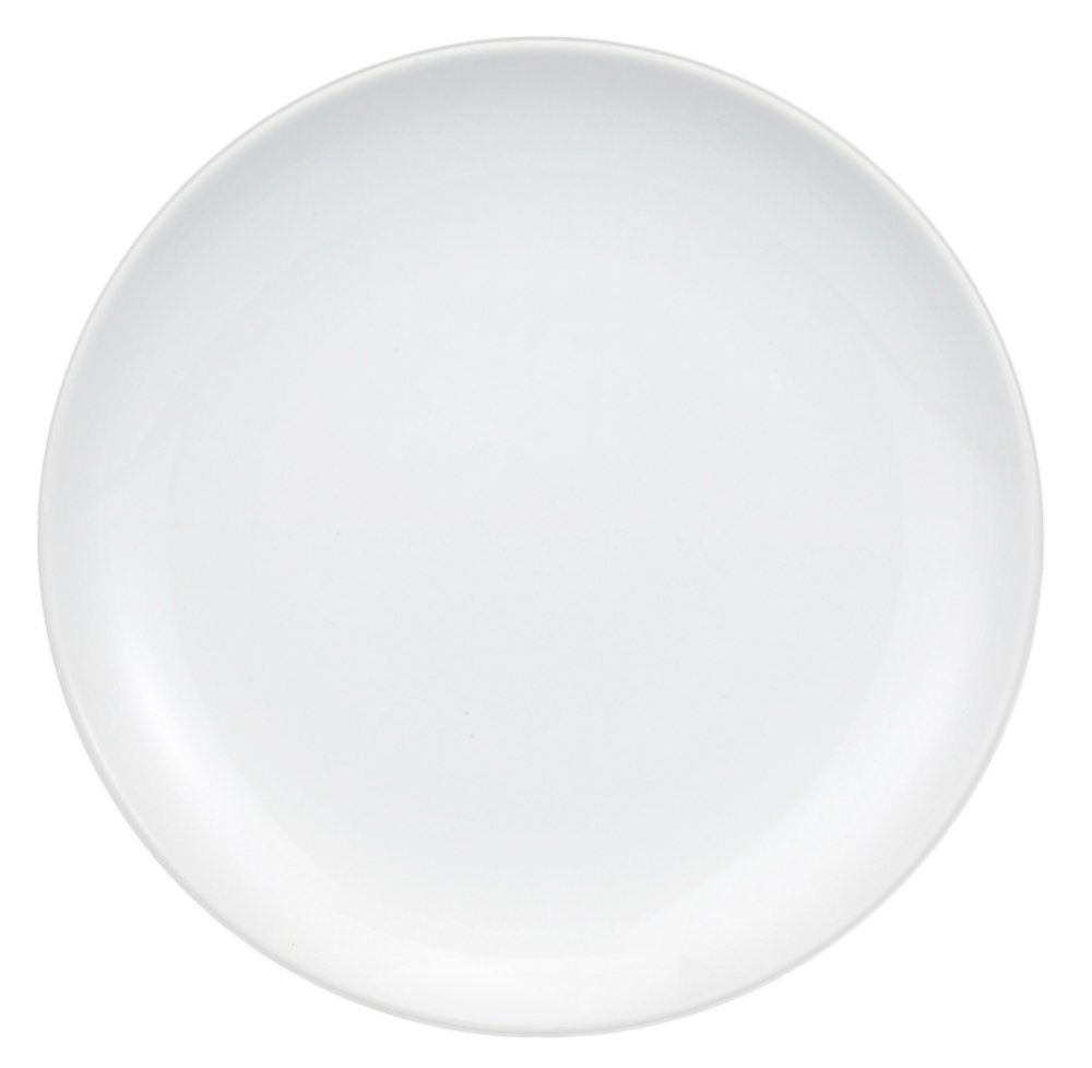 HIC Porcelain Coupe Buffet Plate 12-inch
