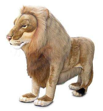 Ride-On Life Size Lion Stuffed Animal ()