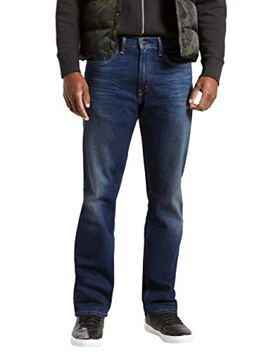 Levi's Men's 505 Regular Fit Jean, Roth-Stretch, 36W x ()