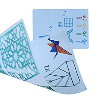 Lifbeier A4 Size Children Drawing 3d Copy Plate Paper Mold