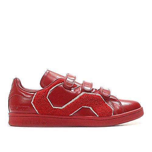 Adidas X Raf Simons Hombres Insignia De Confort Stan Smith (rojo / Rojo Encendido) Rojo / Rojo Encendido