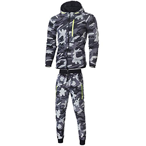 Force Performance Polo - 2018 Wintialy Men's Autumn Winter Camouflage Sweatshirt Top Pants Sets Sports Suit Tracksuit