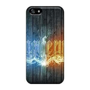 Iphone 5/5s KtG1880wdvR Customized Vivid Ensiferum Band Skin Protector Hard Phone Case -MansourMurray