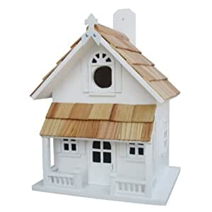 Country Cottage Bird house White