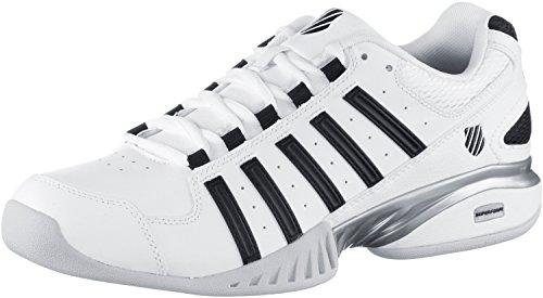 K-Swiss Herren Tennisschuhe weiß/schwarz