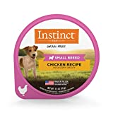 Instinct Original Small Breed Grain Free Real Chicken Recipe Natural Wet Dog Food by Nature's Variety, 3.5 oz. Cups (Case of 12)