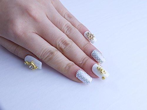 Mermaid Custom Press on Nails by Unicornails