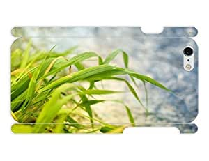 iPhone 6 Case - Photography - Green Grass Close Up73 3D Full Wrap