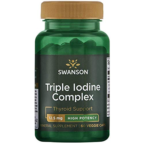 (Swanson Triple Iodine Complex 12.5 Milligrams 60 Veg Capsules)