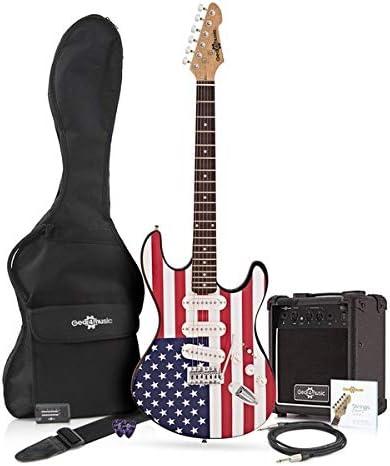 Guitarra Electrica con Paquete de Amplificador Barras y Estrellas ...