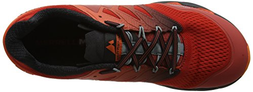 Merrell Men's Agility Peak Flex 2 E-Mesh Trail Running Shoes Orange (Spicy Orange) TDjTwARRQf