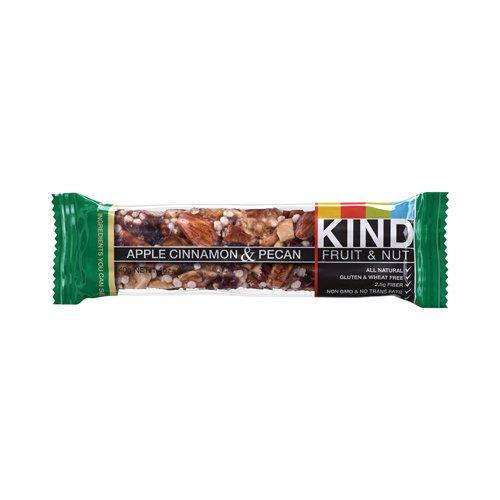 Kind Fruit and Nut Bars - Kind Bar - Apple Cinnamon and Pecan - Case of 12 - 1.4 oz - Pec Pecan