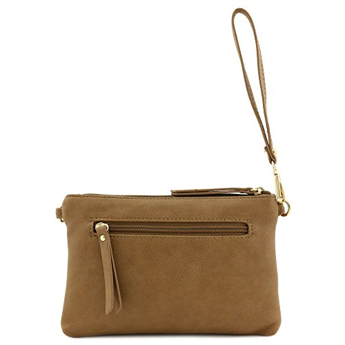 Crossbody Stone Multi and Wristlet Bag functional Clutch 4177IqYx