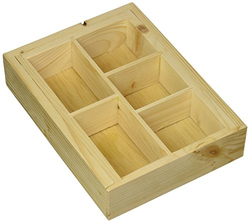 414s70LYE5L - Axis Bamboo Expandable Drawer Organizer