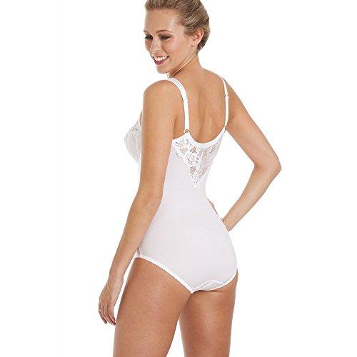 Camille Body Gainant à Armatures et Dentelle - Blanc  Amazon.fr  Vêtements  et accessoires 88cbb7e0636