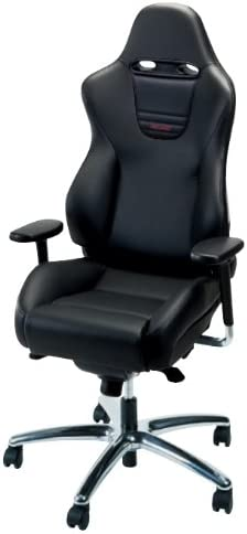 Amazon Com Recaro Sport Office Chair Suede With Seatbelt Guides Black Nardo Bolsters Blue Suede Inserts Kitchen Dining