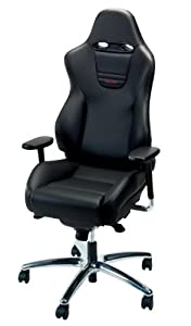 Amazoncom Recaro Sport Office Chair Suede With Seatbelt Guides - Recaro desk chair
