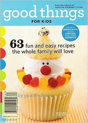 Martha Stewart Living Everyday Food Kids Issue Editors Of MARTHA STEWART LIVING EVERYDAY FOOD Magazine Amazon Books