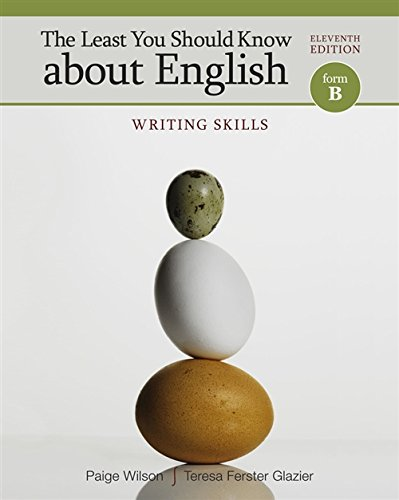 The Least You Should Know about English: Writing Skills, Form B