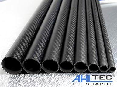 longueur au choix 330mm Tube en carbone /Ø 16 mm//tube en fibre de carbone CFK 3K 1