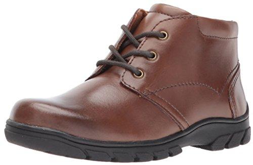 Foam Junior Boot - Florsheim Kids Boys' Getaway Chukka Boot Jr. II Oxford, Cognac, 10 M US Toddler