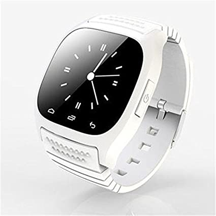 e878f404aea Image Unavailable. Image not available for. Color  Ace M26 Bluetooth Smart  Watch wristwatch smartwatch With LED Alitmeter Music Player Pedometer For  Apple ...