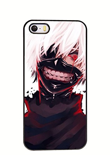 [Tokyo ghouls Anime cool Cosplay costume cell phone case Iphone 5/5s case (014)] (Ipod Costume)