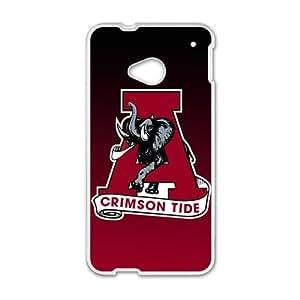 Alabama Crimson Tide Design Hard Case Cover Protector For HTC M7