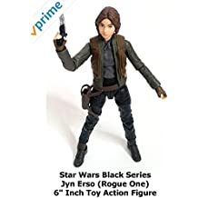 "Review: Star Wars Black Series Jyn Erso (Rogue One) 6"" Inch Toy Action Figure"