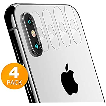 Tensea Back Camera Lens Protector Apple iPhone Xs Max/Xs/X Tempered Glass Film Screen Protector, Anti-Scratch, Anti-Fingerprint, Ultra Thin, High Definition ...