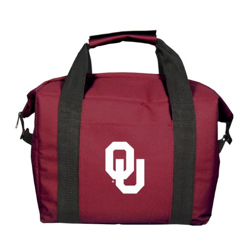 NCAA Oklahoma Sooners Soft Sided 12-Pack Cooler Bag by Kolder