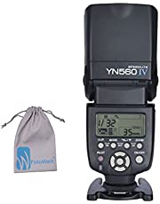 Yongnuo 2.4GHz Speedlite YN560 IV Flash With Radio Mater Mode For Canon Nikon Olympus