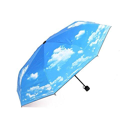 Price comparison product image J.Market Manual Umbrella Folding Compact Travel Umbrella Waterproof and UV Protection Umbrella