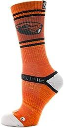 Athletic Socks Oregon State Orange Heather 5800411 Strapped Fit Men