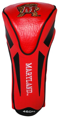 Team Golf NCAA Maryland Terrapins Golf Club Single Apex Driver Headcover, Fits All Oversized Clubs, Truly Sleek Design - Maryland Terrapins Headcovers