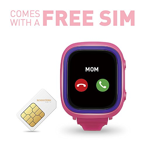 NEW TickTalk 2.0 Touch Screen Kids Smart Watch, GPS Phone watch, Anti Lost GPS tracker with New App, Better Positioning Chip, Things To Do Reminder, Phone/Messaging (SIM CARD INCLUDED) (Pink) by TickTalk (Image #5)