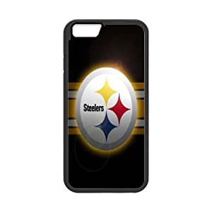 Pittsburgh Steelers iPhone 6 Plus 5.5 Inch Cell Phone Case Black JU0050386