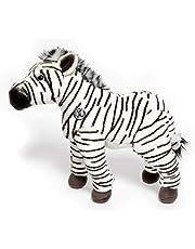 Zebra knuffeldier staand 33 cm pluche dier knuffeldier * ZEBBY
