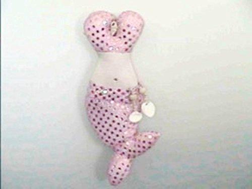 Mermaid Bustier Plush Sachet, Pink (Bustier Sachet)