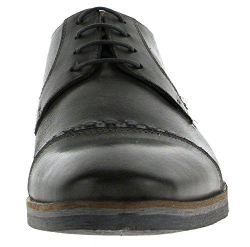 Nicola benson business 1176B chaussures en cuir anthracite