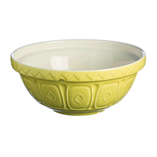 Mason Cash Earthenware Mixing Bowl, S12, 11-1/2-Inches, 4-1/4-Quarts, Bright ()