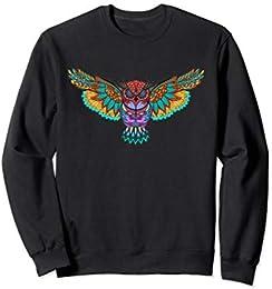 Owl Art Sweatshirt