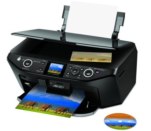 Epson Stylus Photo RX595 All-in-One Printer (C11C693201) ()